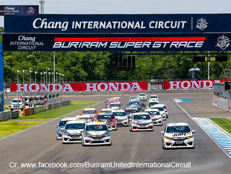 BURIRAM SUPER GT RACE 2015 สนามช้างอินเตอร์เนชั่นแนลเซอร์กิต บุรีรัมย์